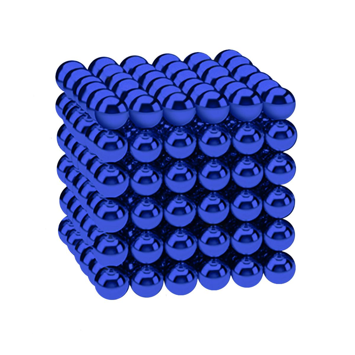 Магнитные шарики-головоломка SKY NEOCUBE (D5) комплект (216 шт) Blue