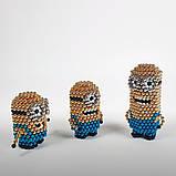 Магнитные шарики-головоломка SKY NEOCUBE (D5) комплект (216 шт) Blue, фото 4