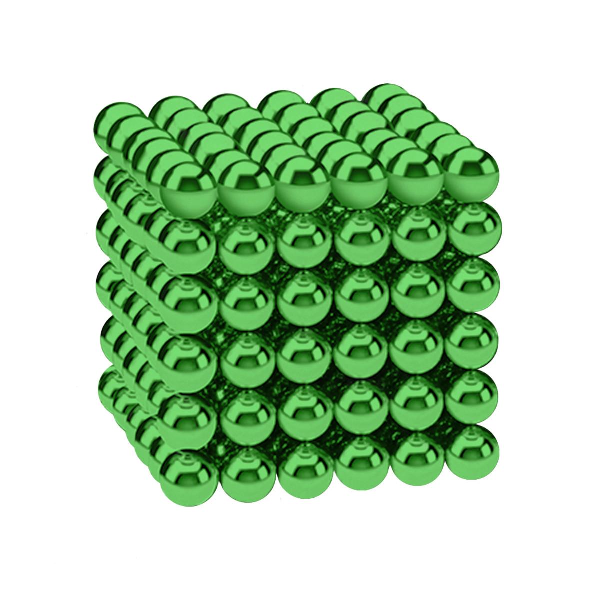Магнитные шарики-головоломка SKY NEOCUBE (D5) комплект (216 шт) Green