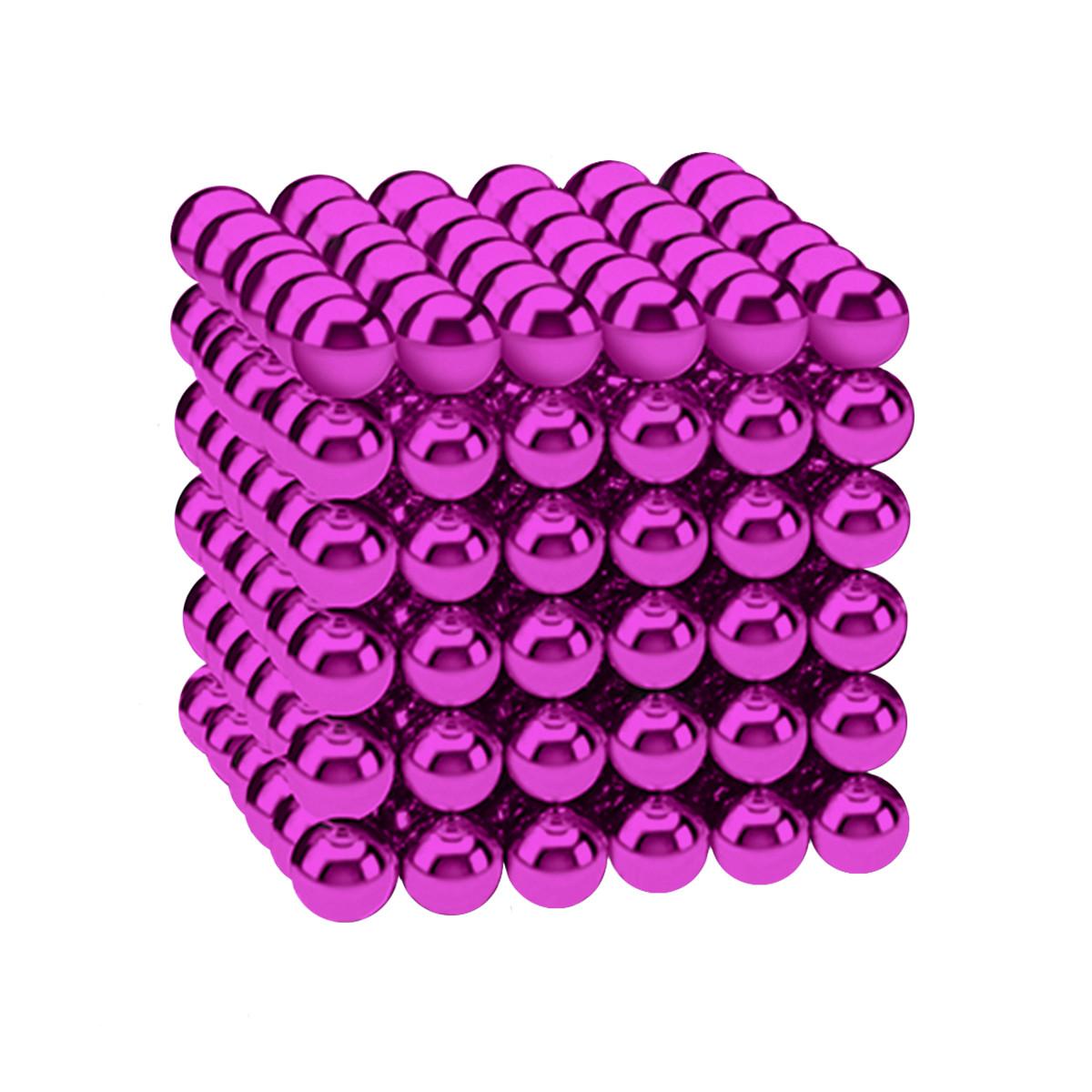 Магнитные шарики-головоломка SKY NEOCUBE (D5) комплект (216 шт) Pink