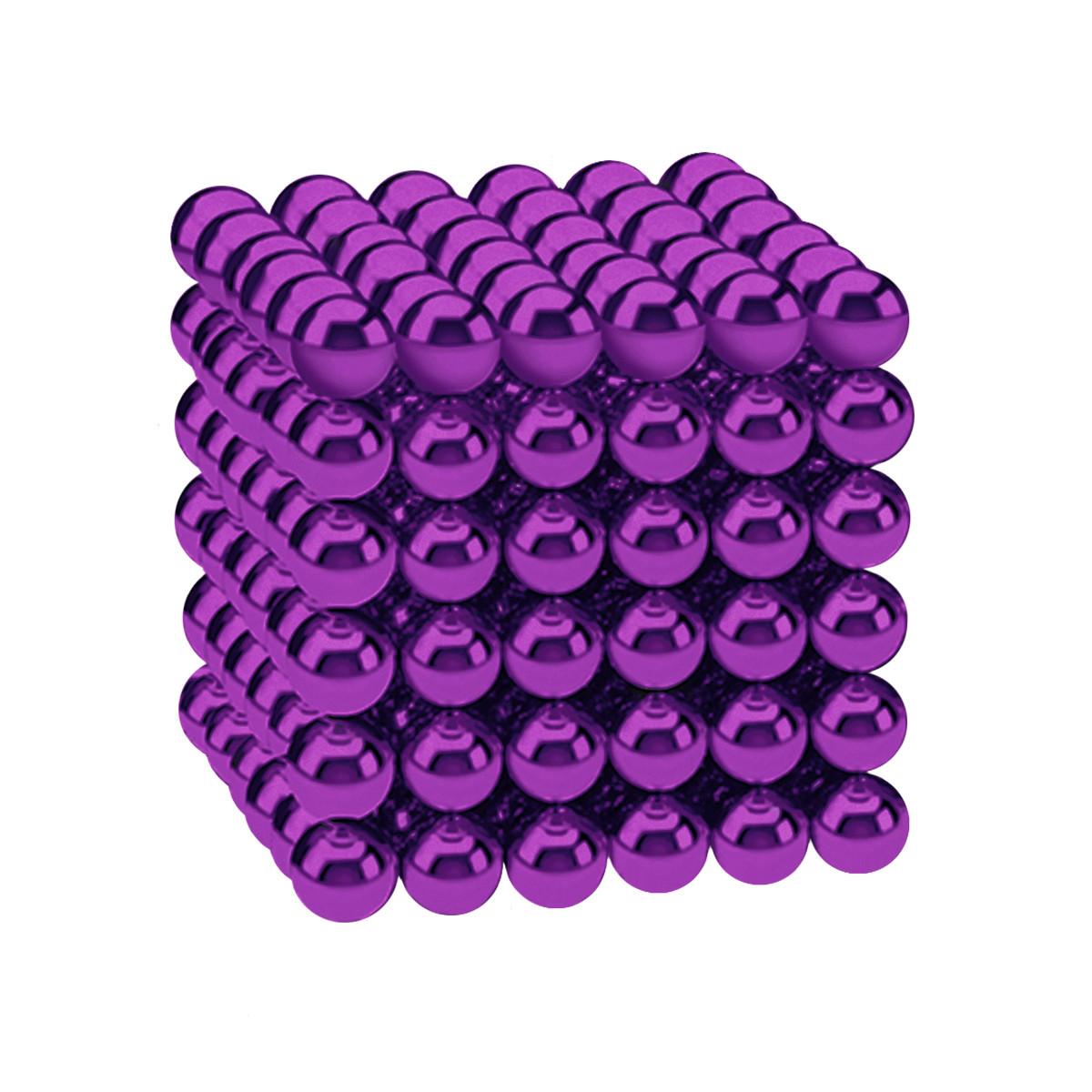 Магнітні кульки-головоломка SKY NEOCUBE (D5) комплект (216 шт) Purple