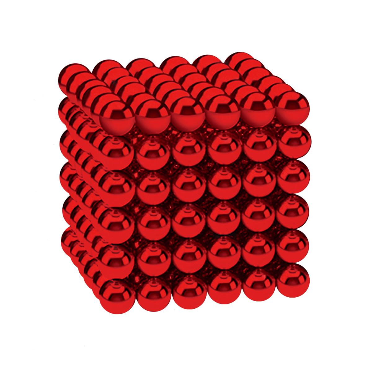 Магнітні кульки-головоломка SKY NEOCUBE (D5) комплект (216 шт) Red
