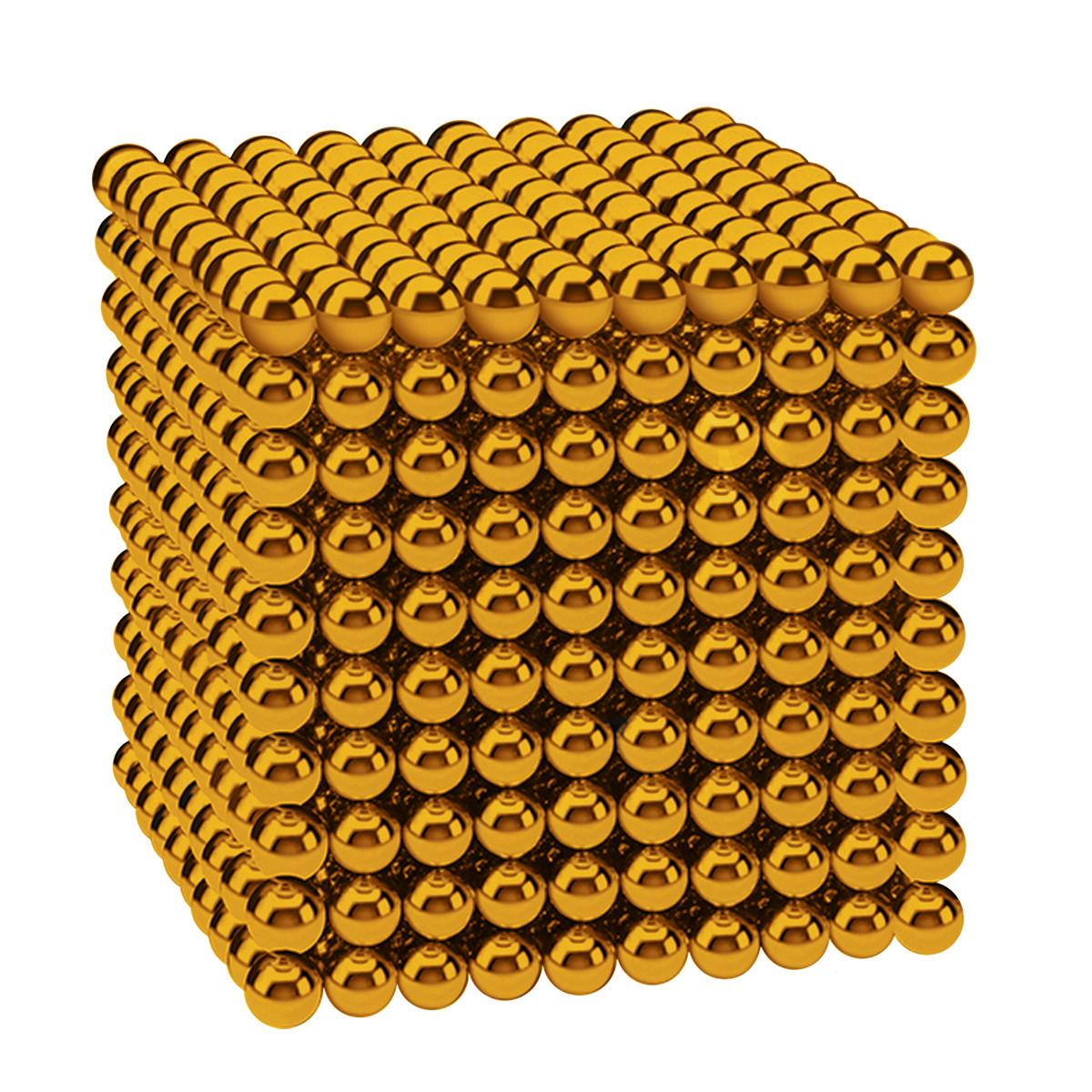 Магнітні кульки-головоломка SKY NEOCUBE (D5) комплект (1000 шт) Gold