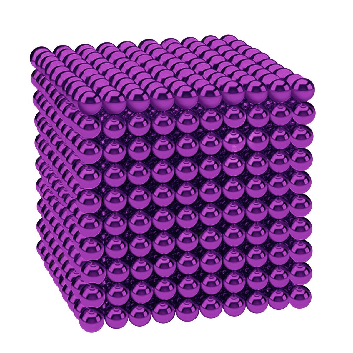 Магнітні кульки-головоломка SKY NEOCUBE (D5) комплект (1000 шт) Purple