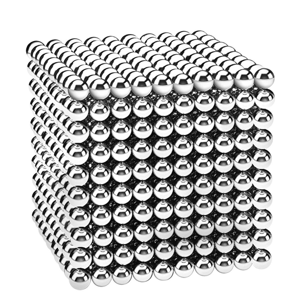 Магнитные шарики-головоломка SKY NEOCUBE (D5) комплект (1000 шт) Silver