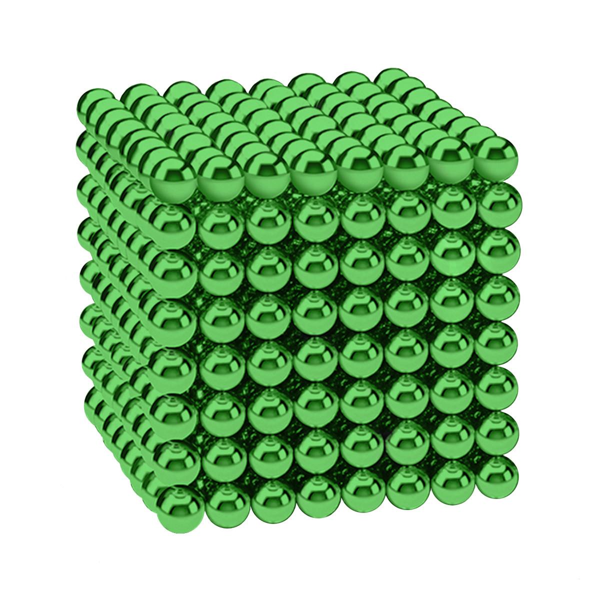 Магнітні кульки-головоломка SKY NEOCUBE (D5) комплект (512 шт) Green