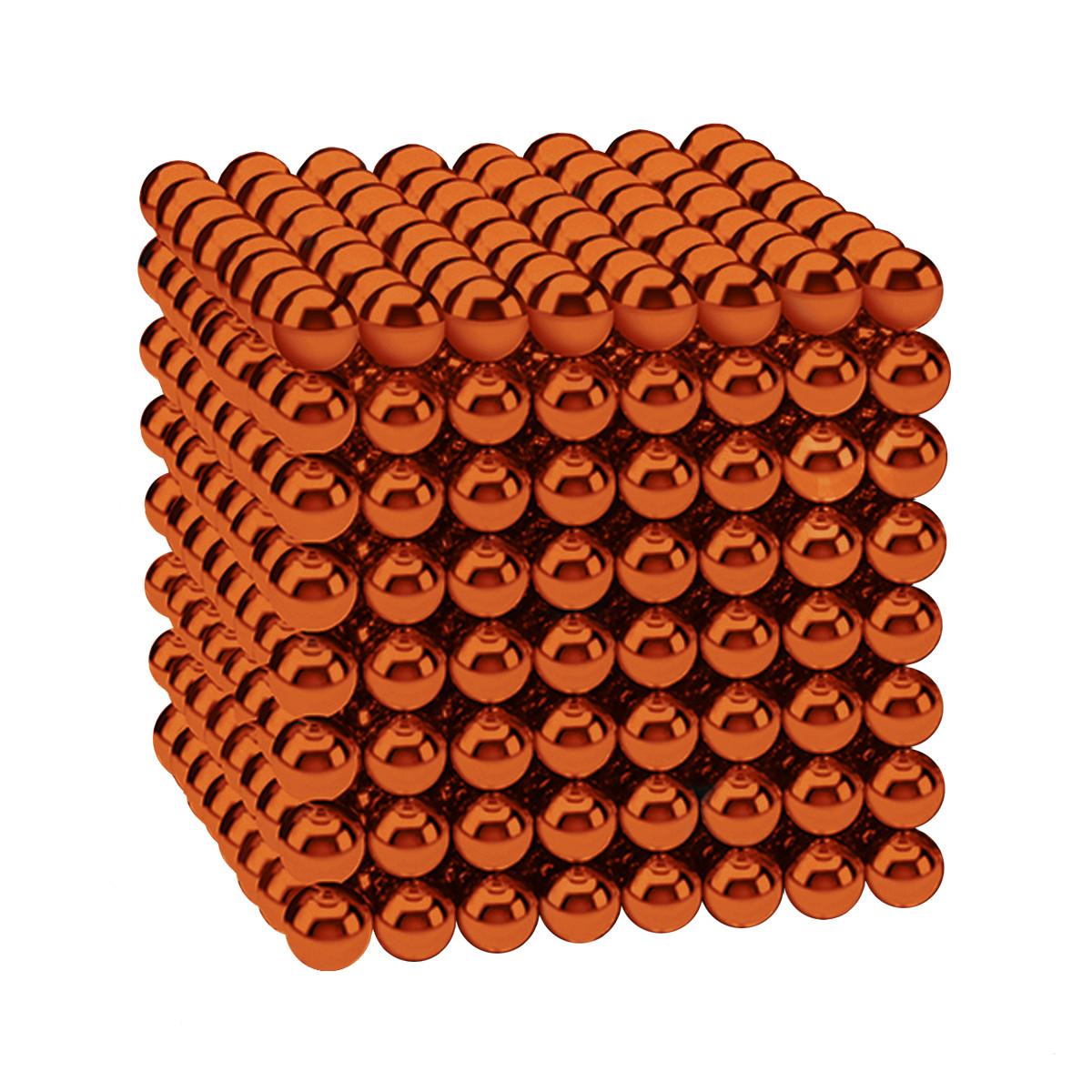 Магнітні кульки-головоломка SKY NEOCUBE (D5) комплект (512 шт) Orange