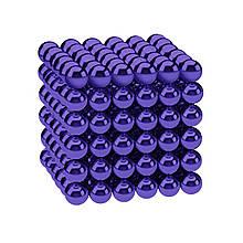 Магнитные шарики-головоломка SKY NEOCUBE (D5) комплект (216 шт) Violet