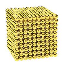 Магнитные шарики-головоломка SKY NEOCUBE (D5) комплект (1000 шт) Light Gold