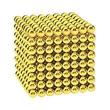 Магнитные шарики-головоломка SKY NEOCUBE (D5) комплект (512 шт) Light Gold