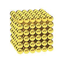 Магнитные шарики-головоломка SKY NEOCUBE (D5) комплект (216 шт) Light Gold