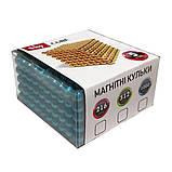 Магнитные шарики-головоломка SKY NEOCUBE (D5) комплект (512 шт) Light Silver, фото 6