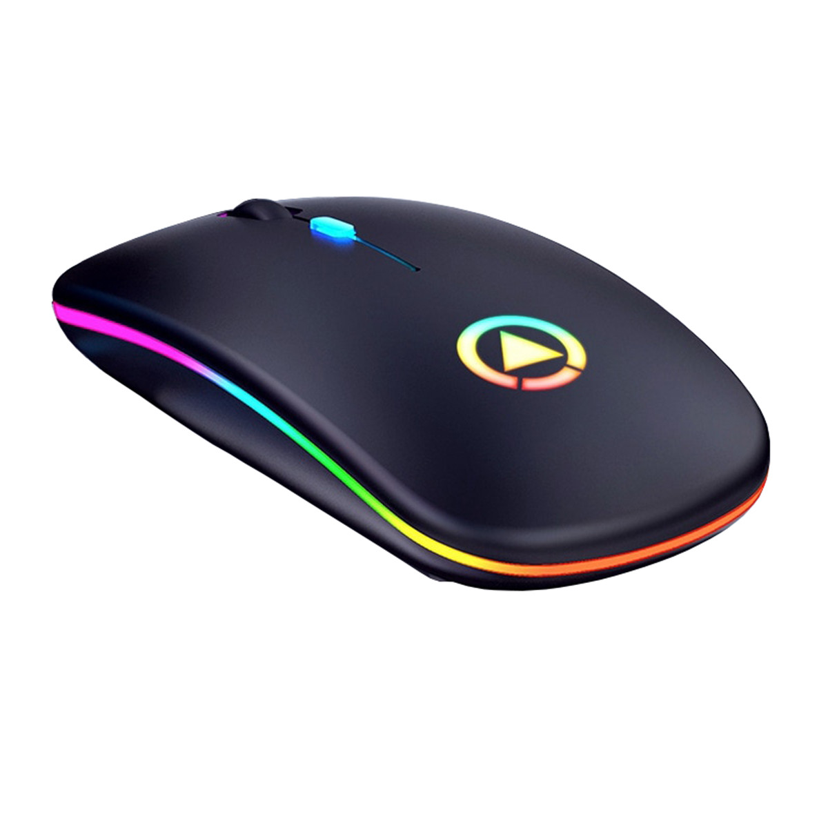 Мышь беспроводная SKY (A2-BT) Black, аккумулятор, Bluetooth, RGB