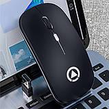 Миша бездротова SKY (A2-B) Black, фото 5