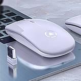 Миша бездротова SKY (A2-B) White, фото 3
