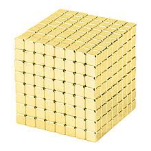 Магнитные кубики-головоломка SKY NEOCUBE (V5) комплект (512 шт) Light Gold