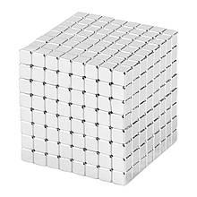 Магнитные кубики-головоломка SKY NEOCUBE (V5) комплект (512 шт) Silver