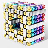 Магнітні кубики-головоломка SKY NEOCUBE (V5) комплект (512 шт) Silver, фото 2