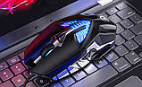 Геймерська миша SKY (G4) Black, 3200 DPI, RGB, фото 2