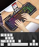 Клавиатура геймерская SKY (V2) Black, RGB, мембранная, (EN), фото 6