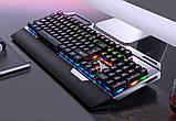 Клавиатура геймерская SKY (K100) Black, RGB, механическая, (EN), фото 2