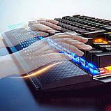 Клавиатура геймерская SKY (K100) Black, RGB, механическая, (EN), фото 4