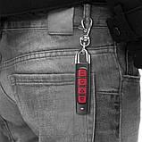 Универсальный программируемый пульт ДУ для ворот SKY (LZ-023) 433 MHz Black/Red, фото 5