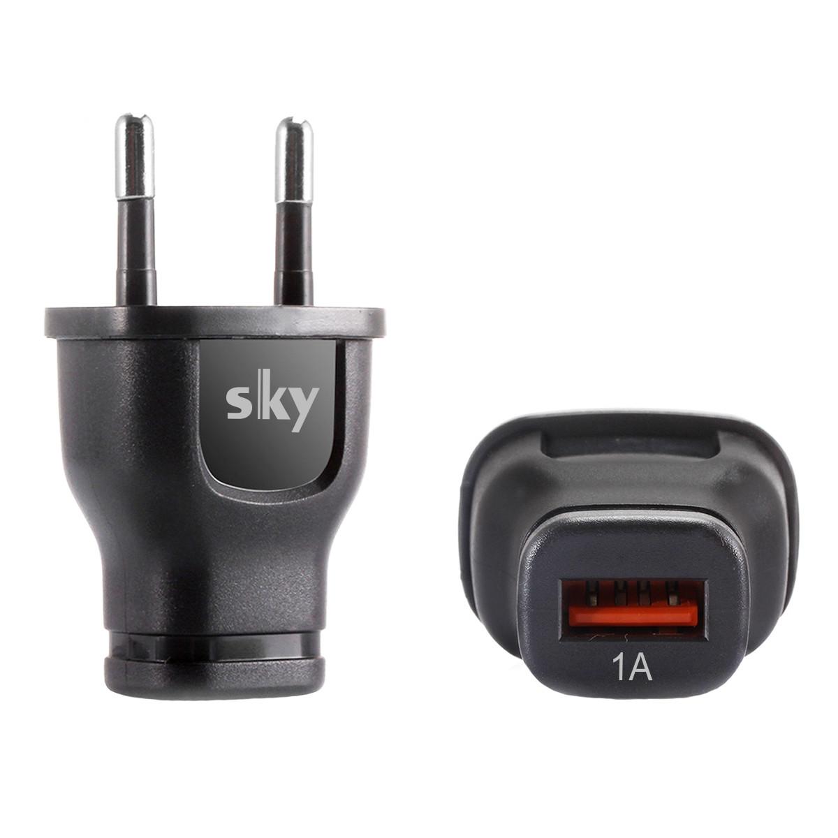 Зарядний пристрій SKY (G 01) USB (5W) Black