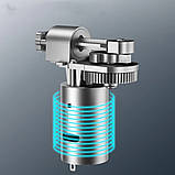 Автомобільний повітряний насос бездротовий для підкачки шин компресор AIKESI LB-70 з цифровим дисплеєм ліхтарем, фото 3