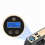 Автомобільний повітряний насос бездротовий для підкачки шин компресор AIKESI LB-70 з цифровим дисплеєм ліхтарем, фото 10