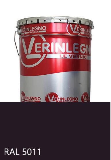 Фарба поліуретанова для меблів Verinlegno Італія, Колір RAL 5011, двокомпонентна