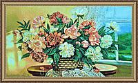 Гобеленова Картина Подарунок мамі 500х1000мм. (в багетній рамці) №G337Z