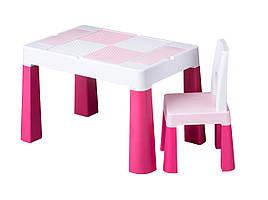 Комплект мебели Tega Multifun Pink 1+1 (столик + кресло)
