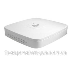 DHI-NVR2104-P-4KS2 4-канальный Smart 4K NVR c PoE коммутатором на 4 порта