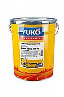 Масло моторне Юкойл SUPER DIESEL 15W-40 (20 л.) мінеральне YUKOIL