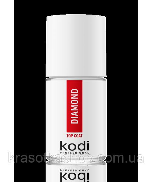 Diamond Top coat KODI PROFESSIONAL - Верхнее покрытие для акриловых ногтей, 15 мл