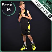 Распродажа! Форма баскетбольная подростковая Zelart Рост 135-140 см Черный (LD-8081T) М