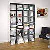 Стелаж для дому та офісу на 24 комірок з ДСП Код: VZ-40, фото 2