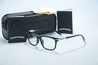 Имиджевые очки, оправа в стиле Chrome Hearts ., фото 1
