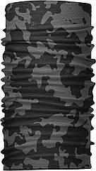 Бандана-трансформер Бафф Серый с черным BT001 5 ZZ, КОД: 1348096