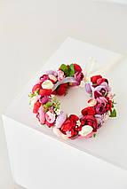 Венок с цветами на голову, фото 2