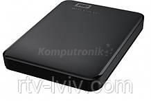 Диск зовнішній WD Elements Portable 2TB black