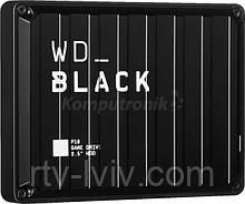 Диск зовнішній WD Black P10 Game Drive 4TB