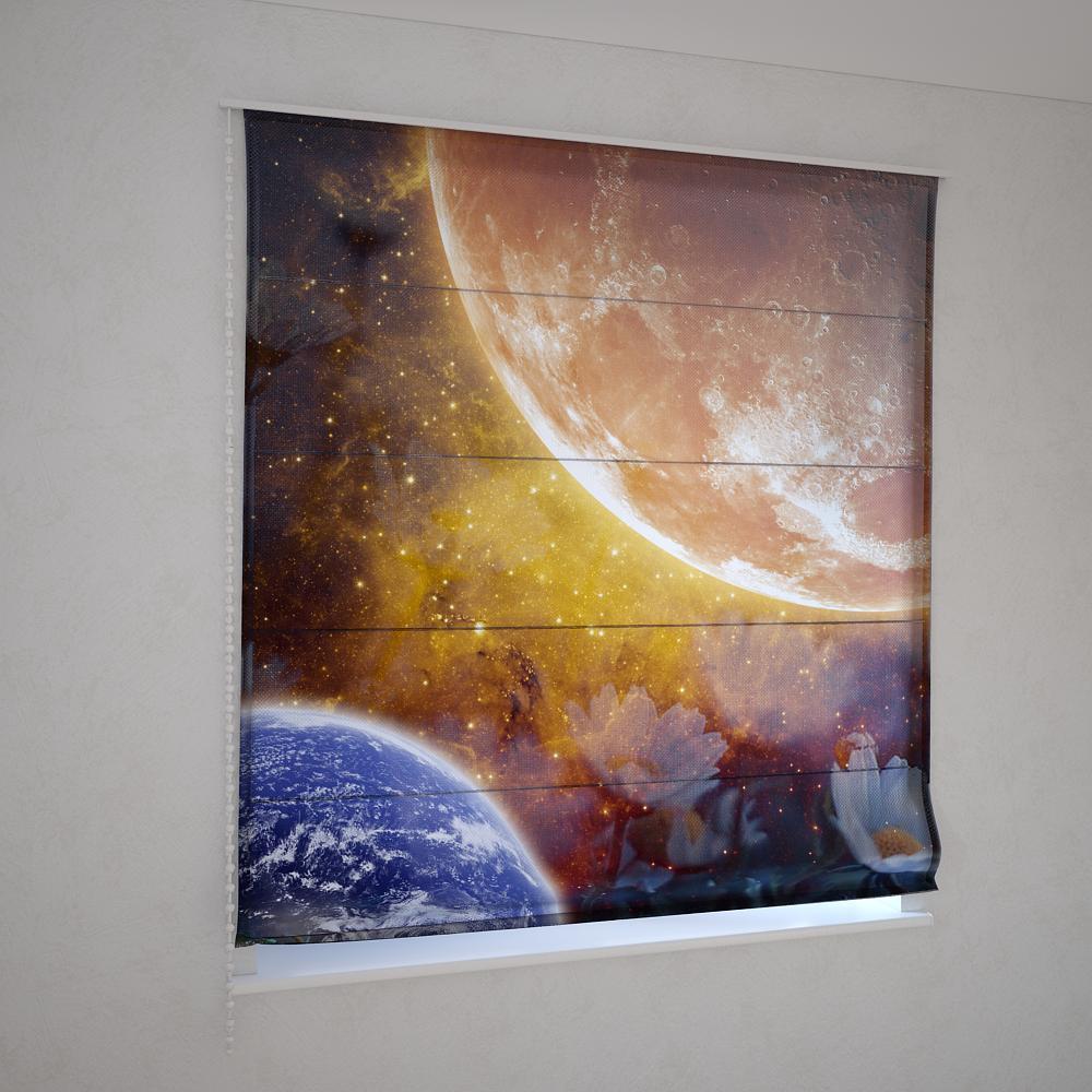 Римські фотошторы космос
