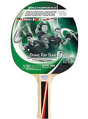 Ракетка для настольного тенниса Donic Top Teams 400 new 7395 ZZ, КОД: 1552548