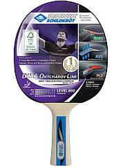 Ракетка для настольного тенниса Donic Ovtcharov 800 FSC 9433 ZZ, КОД: 1552696