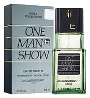 Jacques Bogart One Man Show Туалетная вода EDT 100 ml (Жак Богарт Ван Мен Мэн Шоу) Мужской Парфюм Аромат Духи