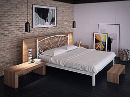 Кровать Карисса Tenero 1400х2000 Белый бархат 10000059 ZZ, КОД: 1555607