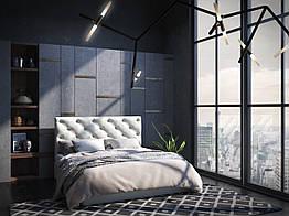 Кровать Дайкири Sentenzo 1800х2000 Белый ZZ, КОД: 2459902