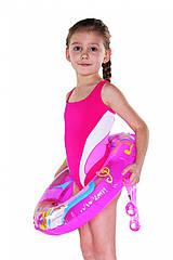 Купальник для девочки Shepa 045 146 Розовый sh0352 ZZ, КОД: 264422